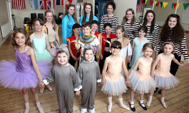 York Press: Pupils at the Yvonne Hoque School of Dance