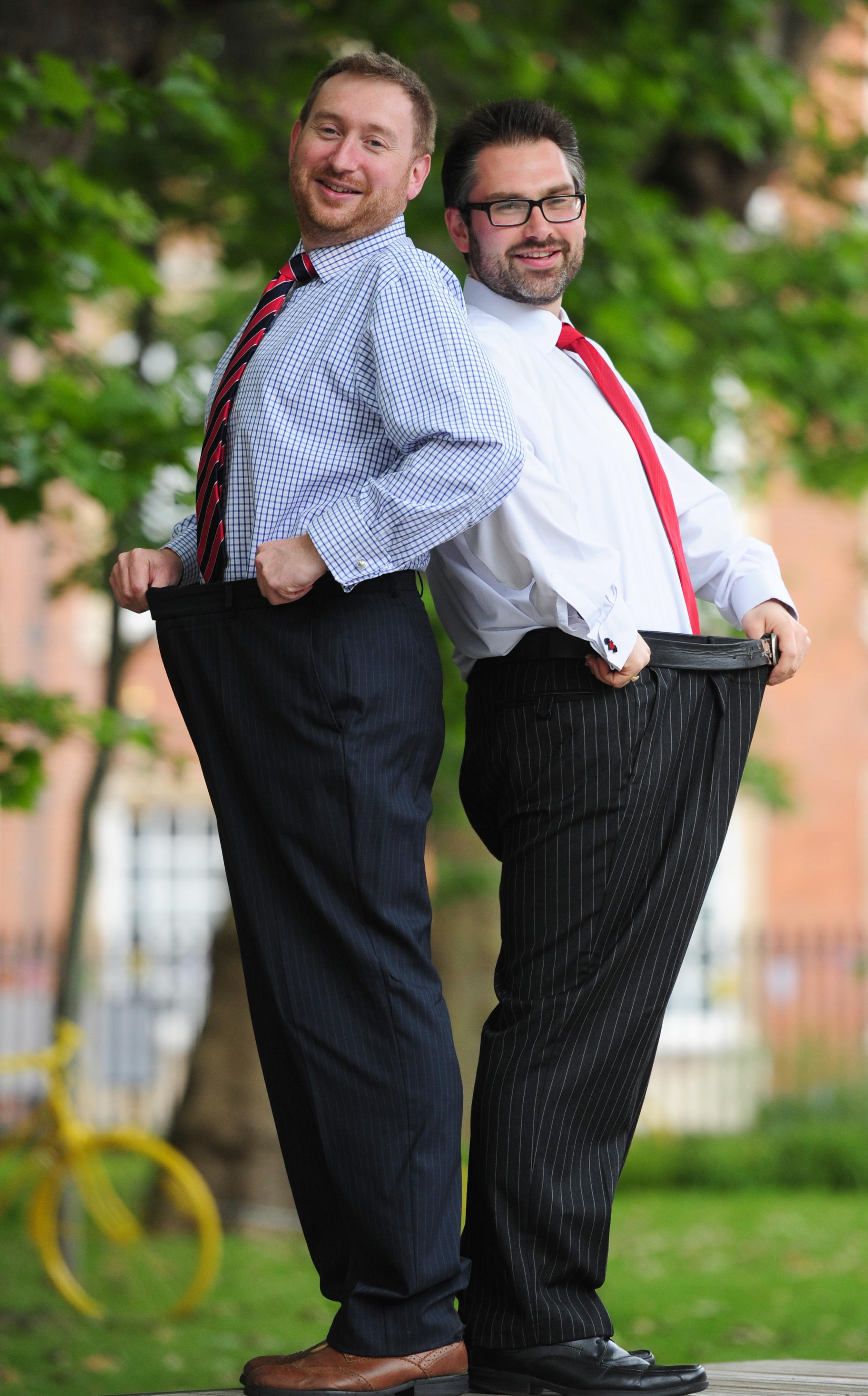 York politicians finish their charity weight-loss contest
