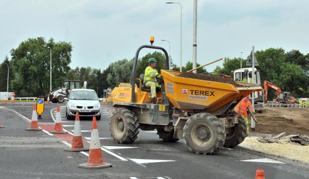 Local residents are furious at the all-night roadworks