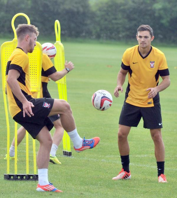 York City are in training and already building new understanding