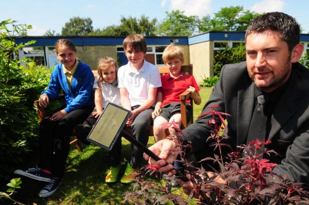 Clifton Green pupils Amelia Brown, Marina Gigli, Chris Profhet and Nate Foster-