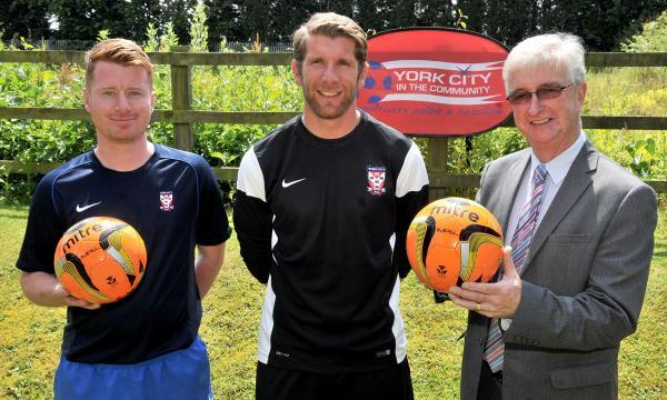 York Press: From left, Simon Wood, Richard Cresswell and John McGhee