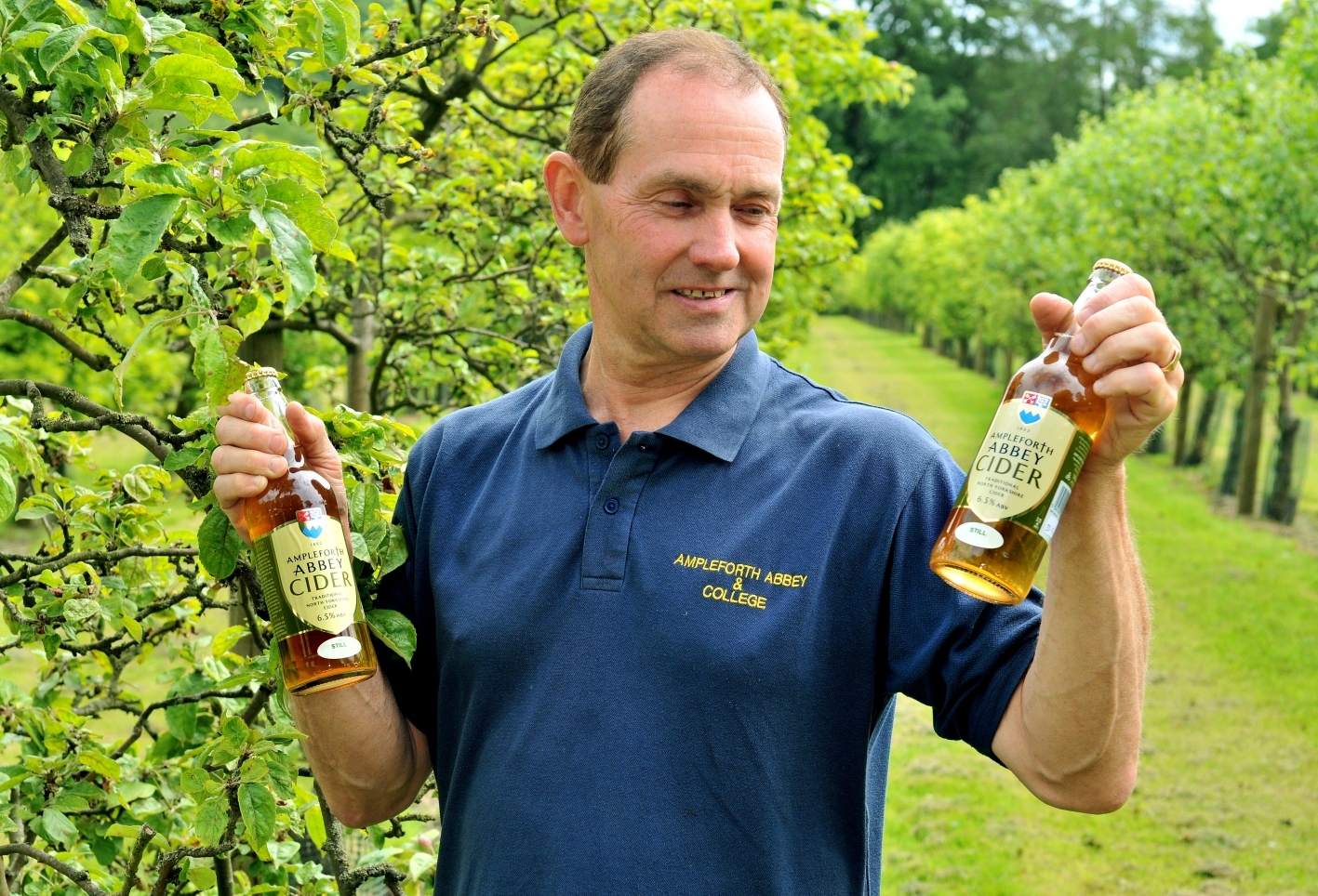 Ampleforth Abbey cider has a still and sparkling future
