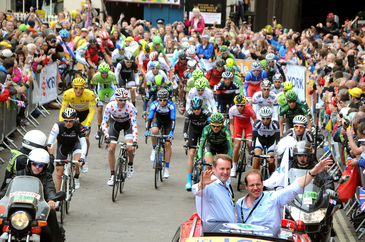 Tour de France in York: A once in a lifetime experience