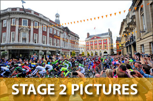York Press: Tour de France Stage 2 pictures