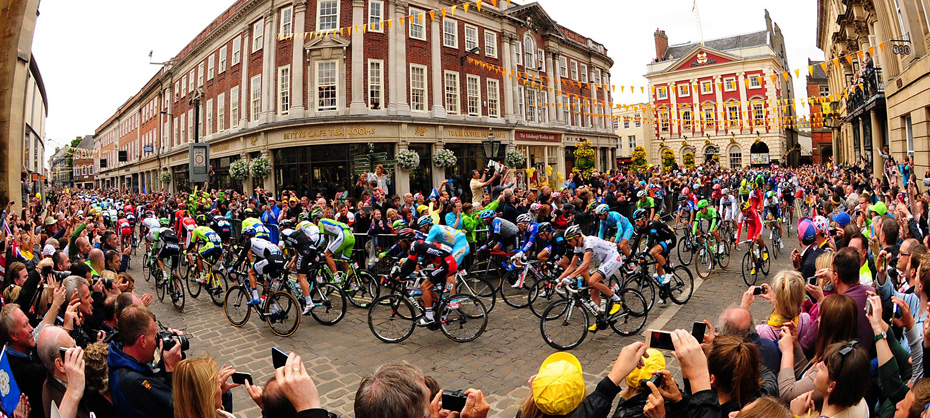 York Press: Tour de France in York