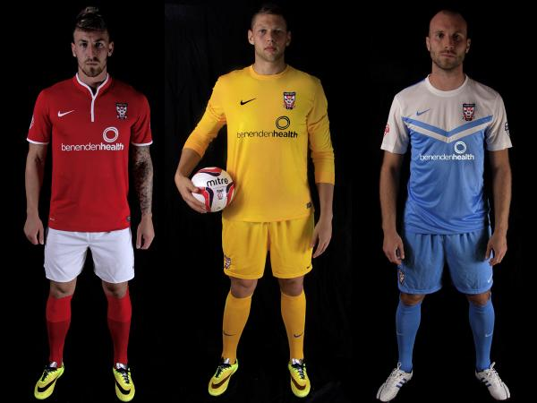 York City unveil new home and away kits
