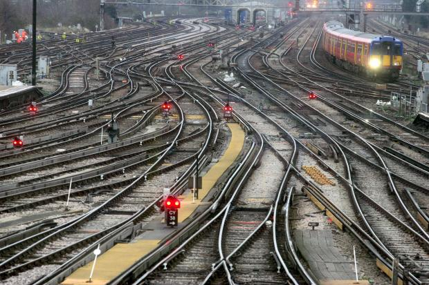 Rail firm apologises after waking residents with noise work on tracks