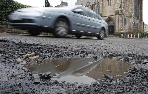 The initial £10m of funding secured by the county council has been earmarked for pothole repairs