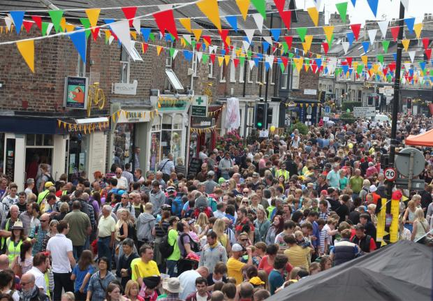 COLOURFUL: One nomination is for best-dressed street in Yorkshire