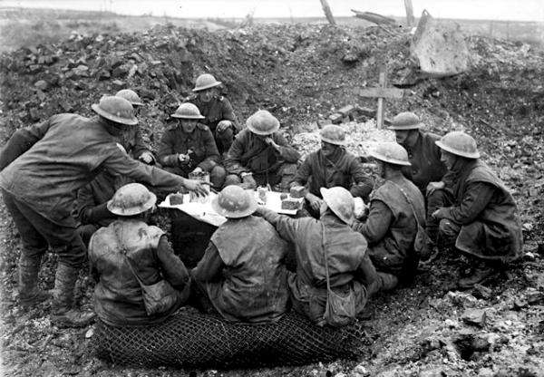Recordings tell of horrors of First World War