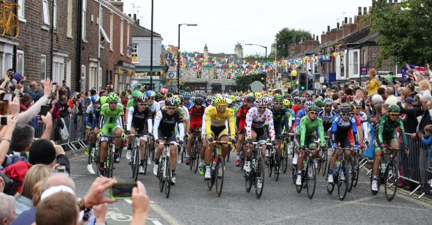 Tour de France in Bishopthorpe Road