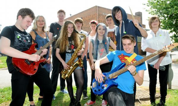 Some of the musicians taking part in the Tang Hall Big Gig on Saturday at Burnholme Community College