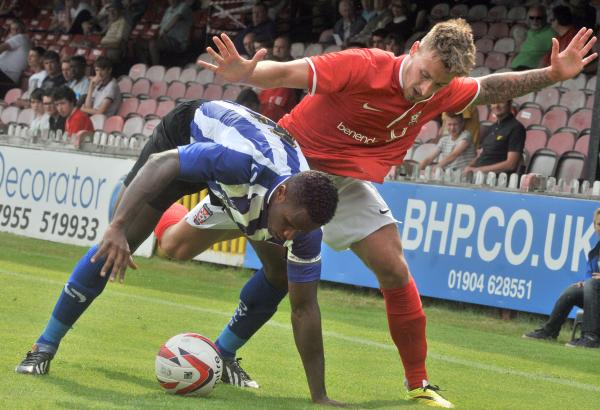 York City 0, Sheffield Wednesday 2