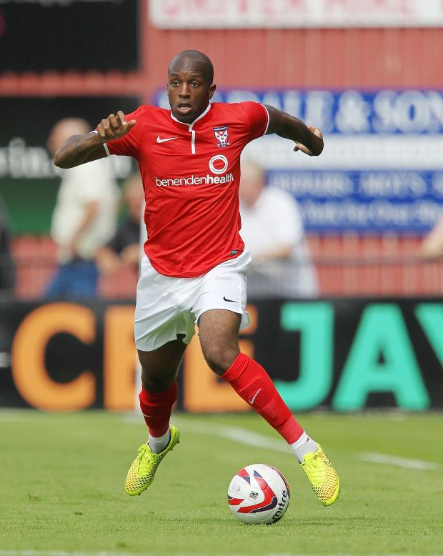 York Press: Anthony Straker was among the marksmen for York City in their 4-0 win at Raith Rovers