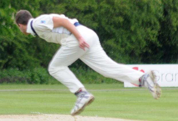 York Cricket Club's Jake Murphy was a blur of wickets as he bagged five victims