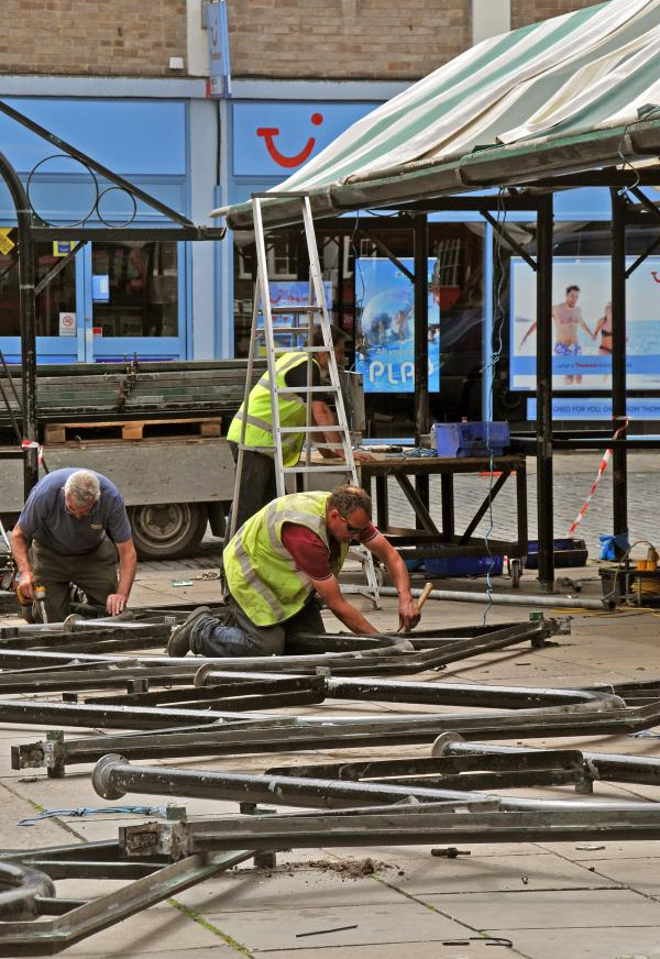 York market moves to Parliament Street ahead of refurbishment