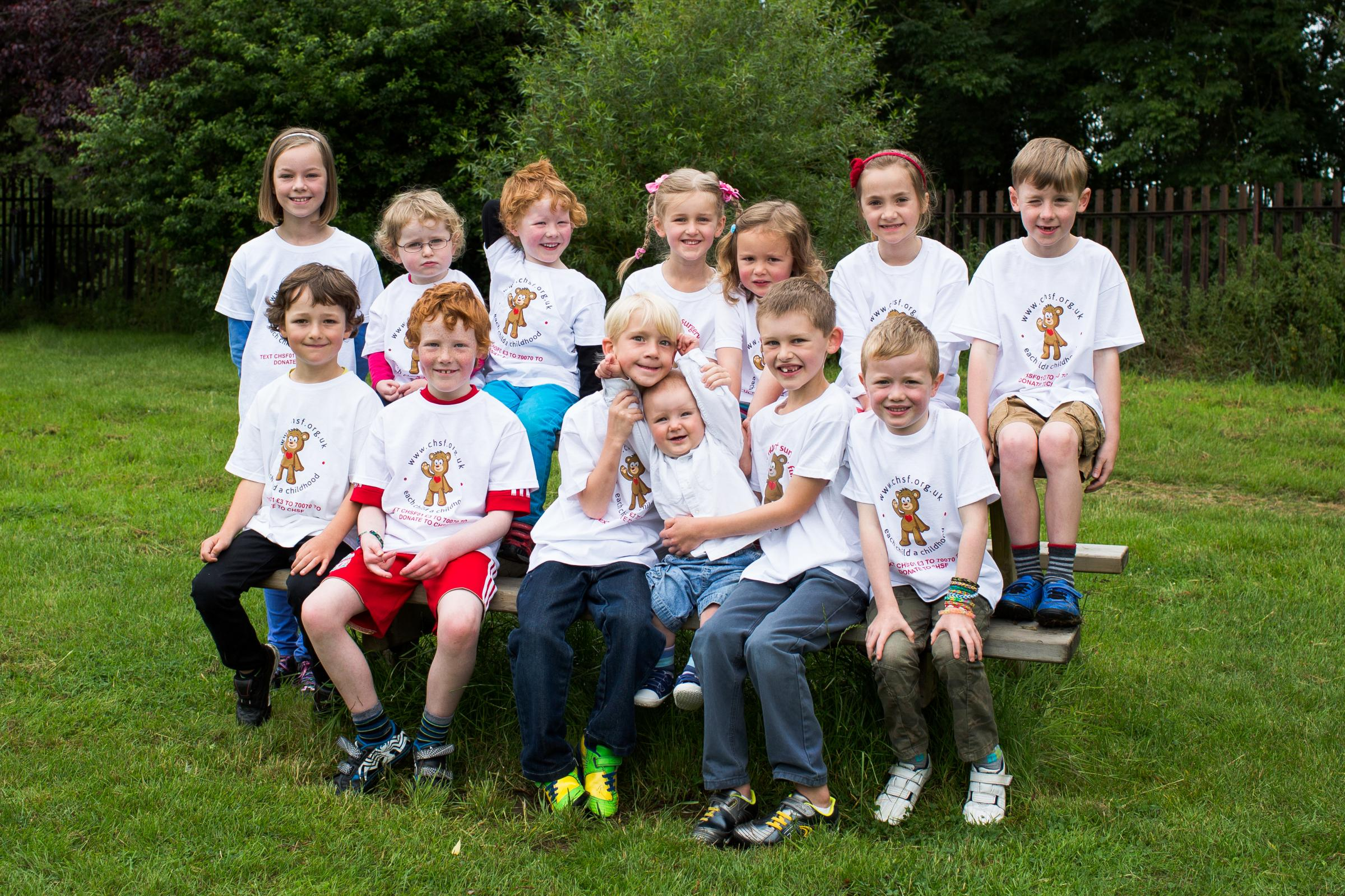 22 children united in heart unit fundraising challenge