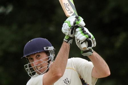 Woodhouse Grange batsman Nick Hadfield
