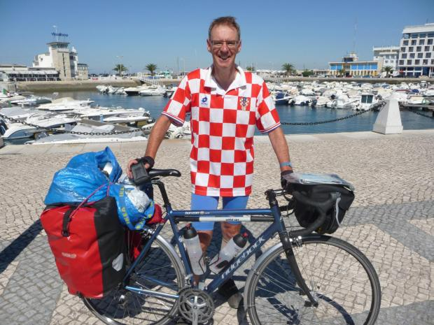 Tony Ives who will cycle an epic 3,700 miles across America to raise funds for York Carers Centre
