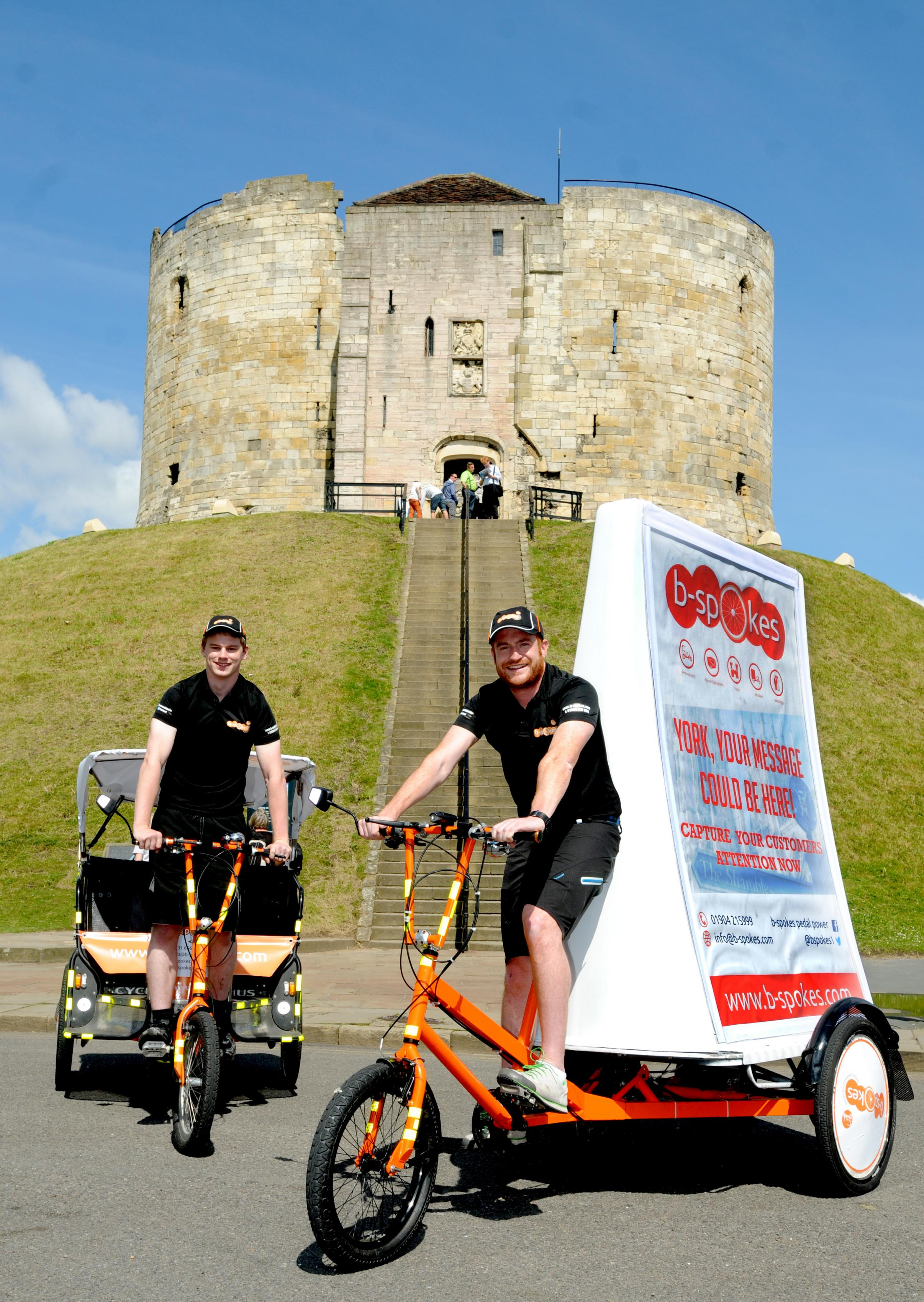 Rickshaws set to pedal in to York