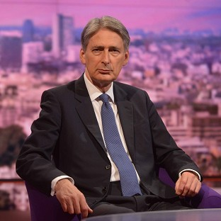 Philip Hammond was made Foreign Secretary in the Cabinet reshuffled last week (BBC/PA Wire)