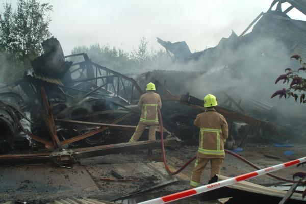 UPDATED: Fire on Selby industrial estate