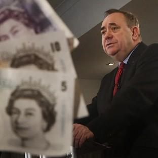 Alex Salmond insists an independent Scotland would keep the pound, but a Commons