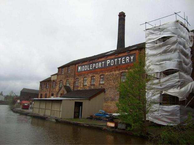 Middleport Pottery site in Stoke-on-Trent