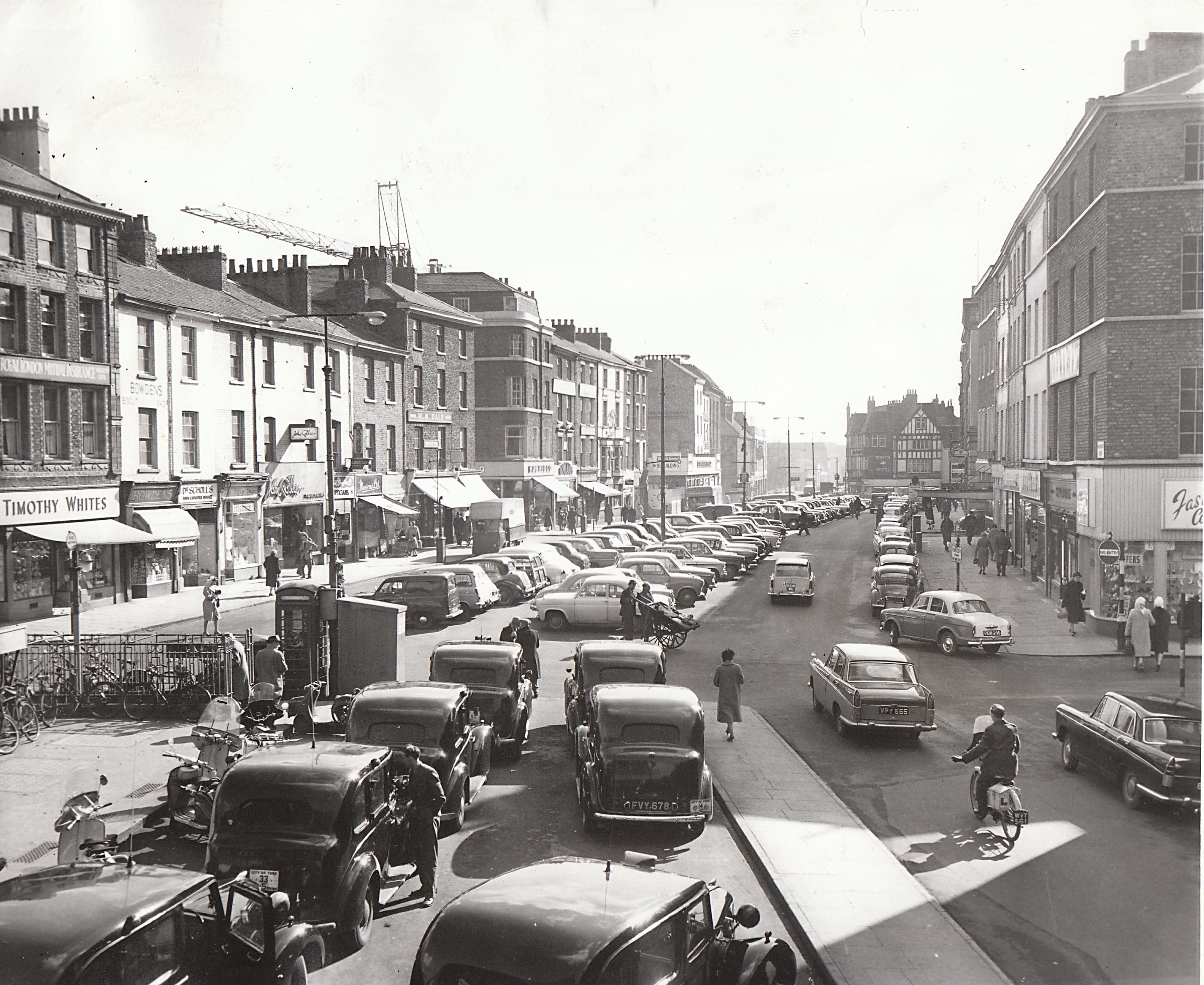 8 pictures of York from times gone by