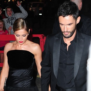 Cheryl throws starry we