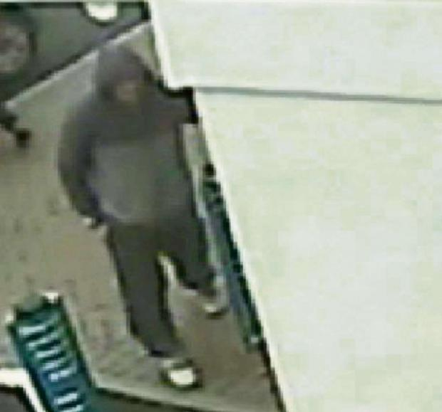 A CCTV image of Scott Nevison in Layerthorpe, York
