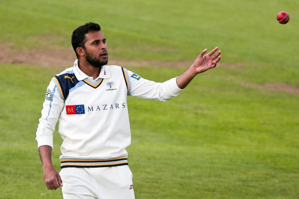 Adil Rashid starred with the ball for Yorkshire