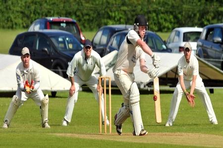 Woodhouse Grange batsman Chris Bilton top-scored in the Foss Evening Cricket League division one clash with York, which was rained off at the halfway stage