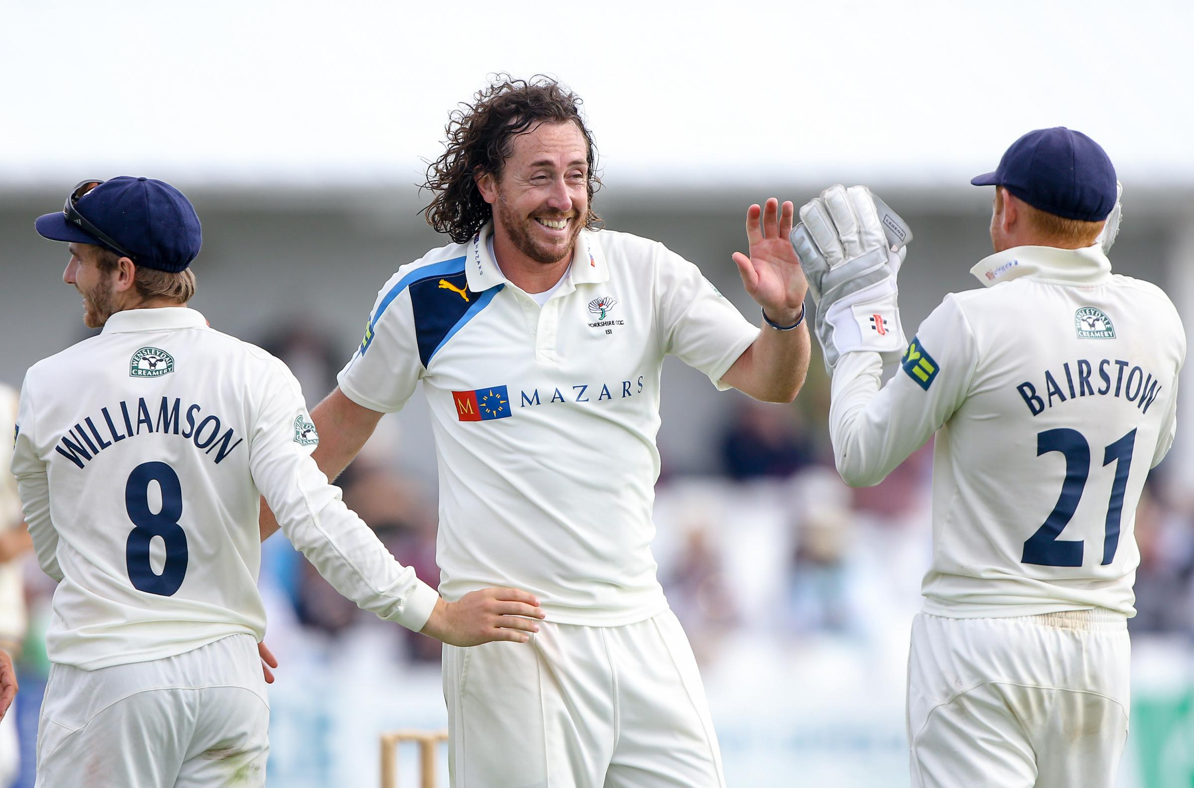 Yorkshire's Ryan Sidebottom is hoping to take his four-day form into tonight's crucial T20 clash with Notts. Picture by Alex Whitehead/SWpix.com