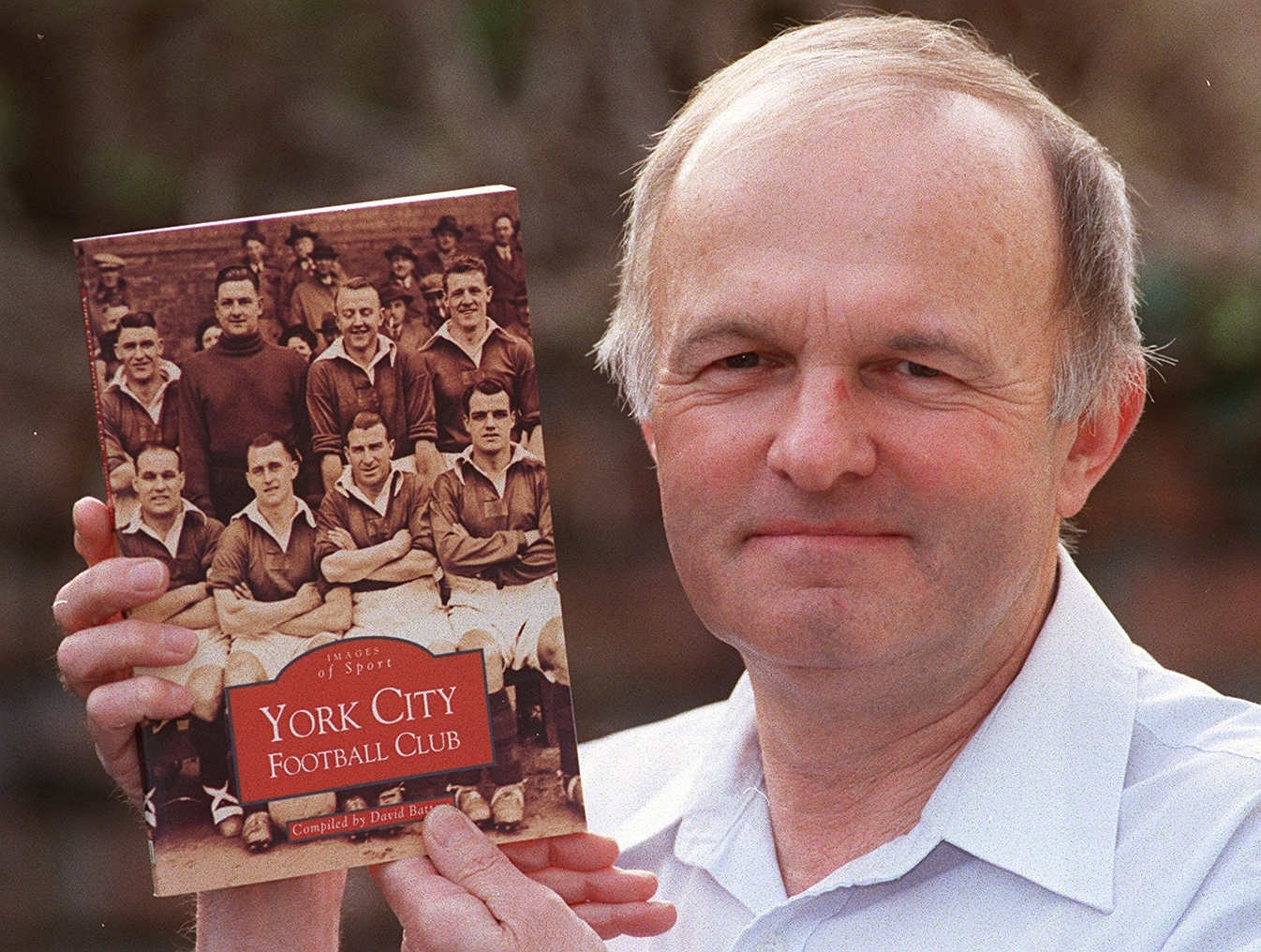 Tributes paid to York City club historian David Batters