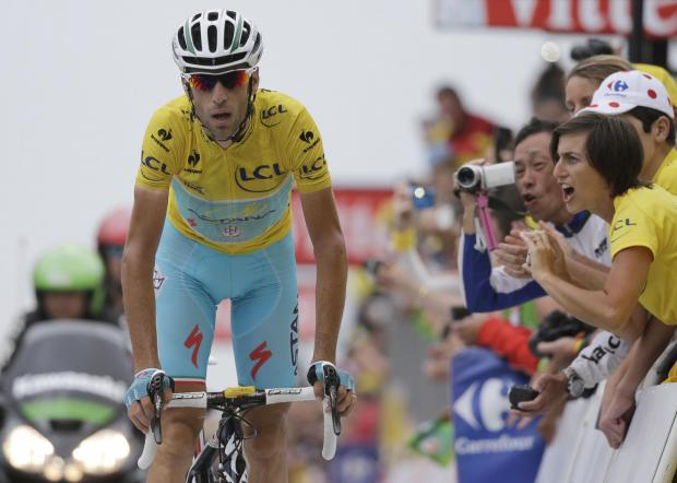 Italy's Vincenzo Nibali is on course to win the Tour de France in Paris tomorrow