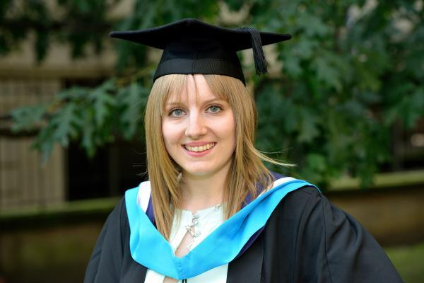 Charlotte Gaunt, from Selby, gained the highest average mark at the University of Huddersfield, qualifying for a Chancellor's Prize