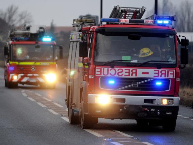 Fire at Bootham Hospital