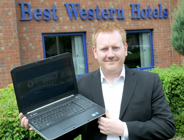 Jason Angus, 42, runs a scheme to take unwanted and disused laptops, recondition them, and give them to schools.