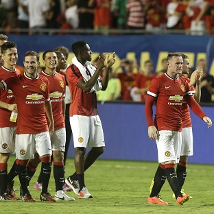 Manchester United signed off their pre-season tour in style (AP)