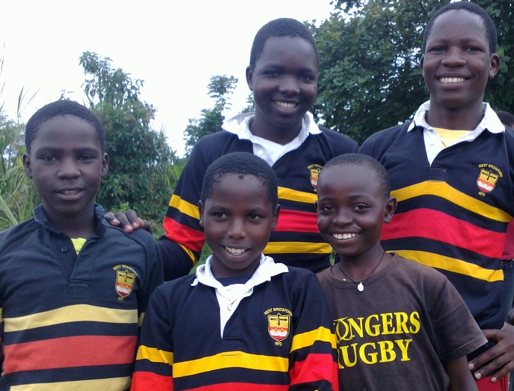 Old rugby boots getting a new lease of life in Uganda
