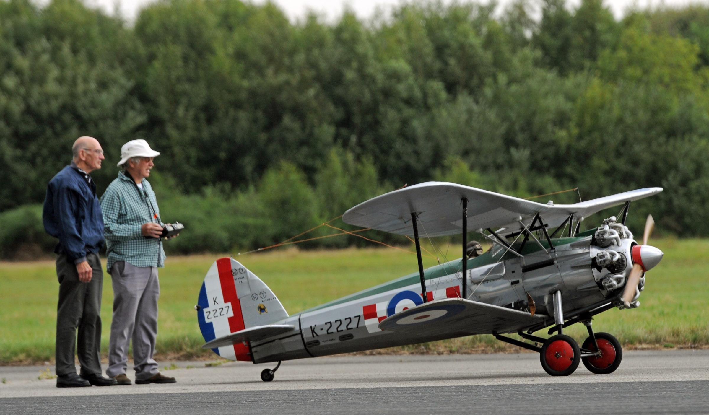 Chocks away at Elvington Model Air Show