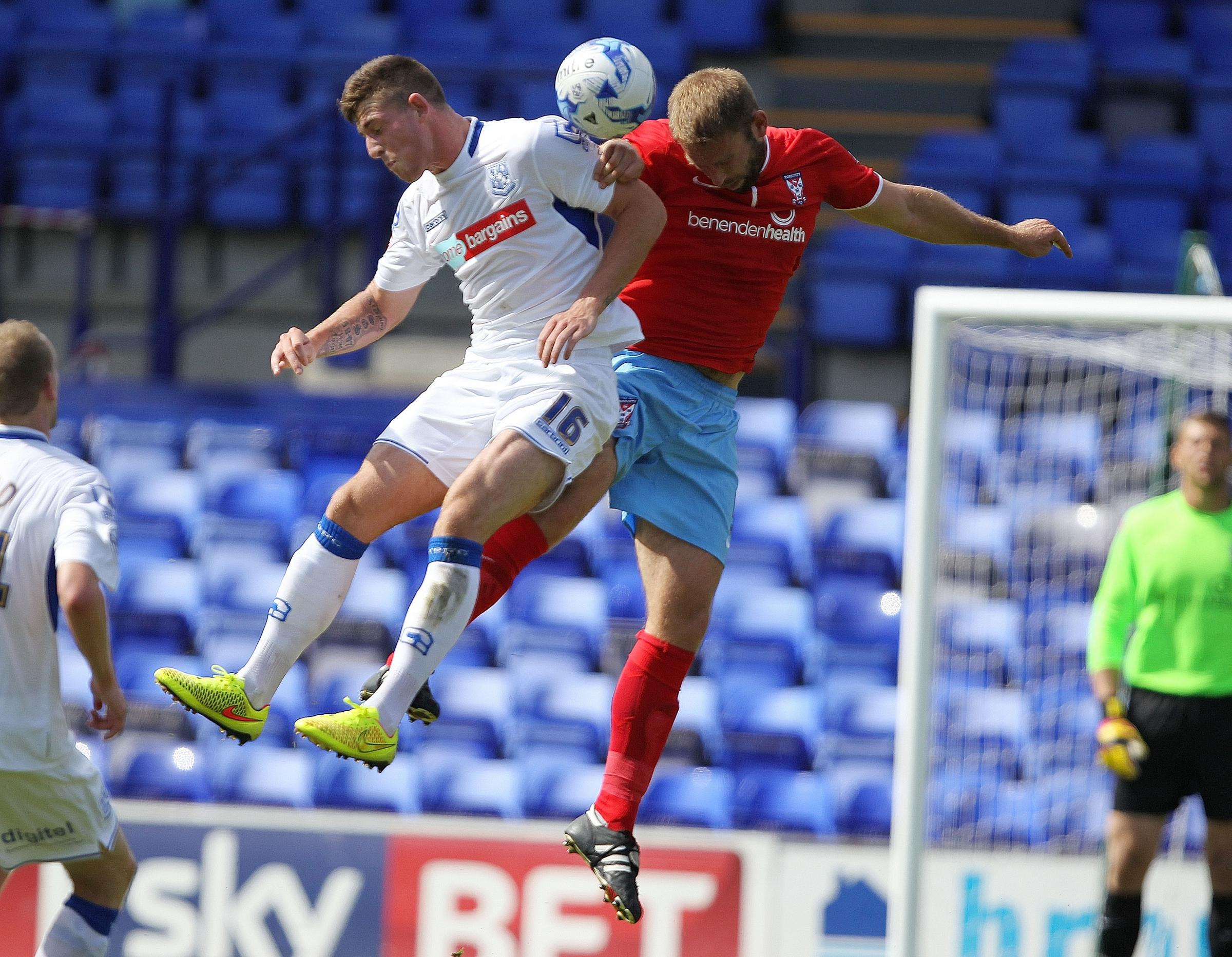Tranmere Rovers 1, York City 1