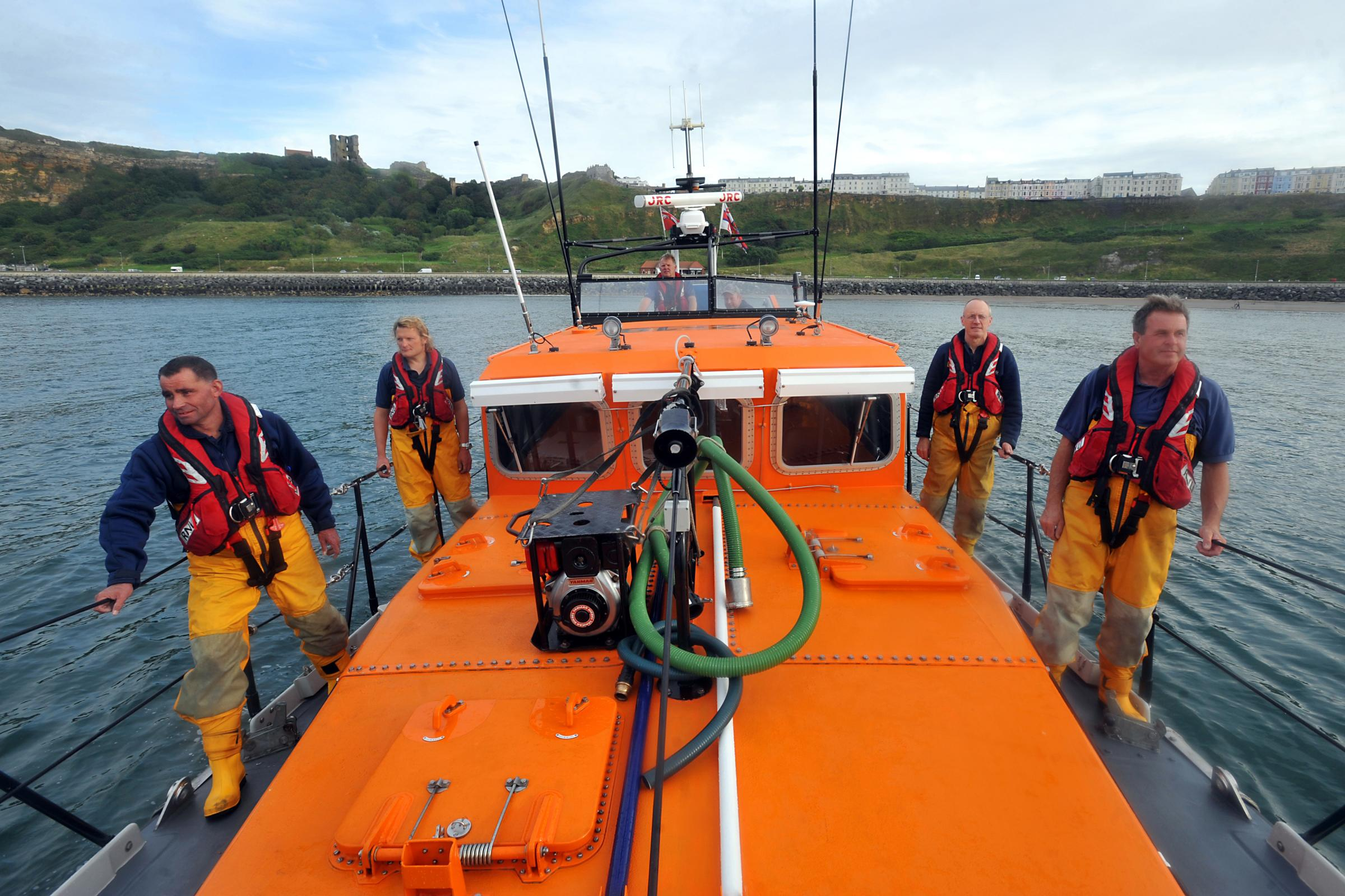 Supporting Scarborough's lifeboat heroes