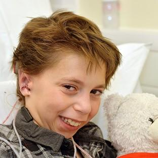 Kieran Sorkin received a new set of ears after experts at Great Ormond Street Hospital performed a six-hour operation where they used cartilage from his ribs to create a pair of ears and grafted them to his head