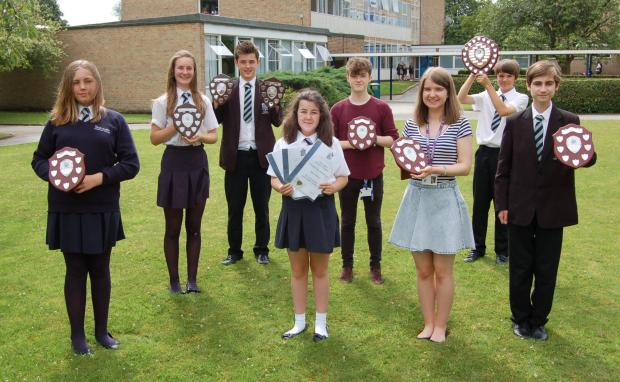 HIGH ACHIEVERS: Tadcaster Grammar School recognised the achievements of its students at six house celebration evenings.