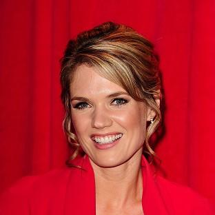 Charlotte Hawkins announced that she is expecting her first baby