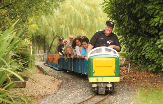 The miniature railway at the National Railway Museum, which managers want to redevelop