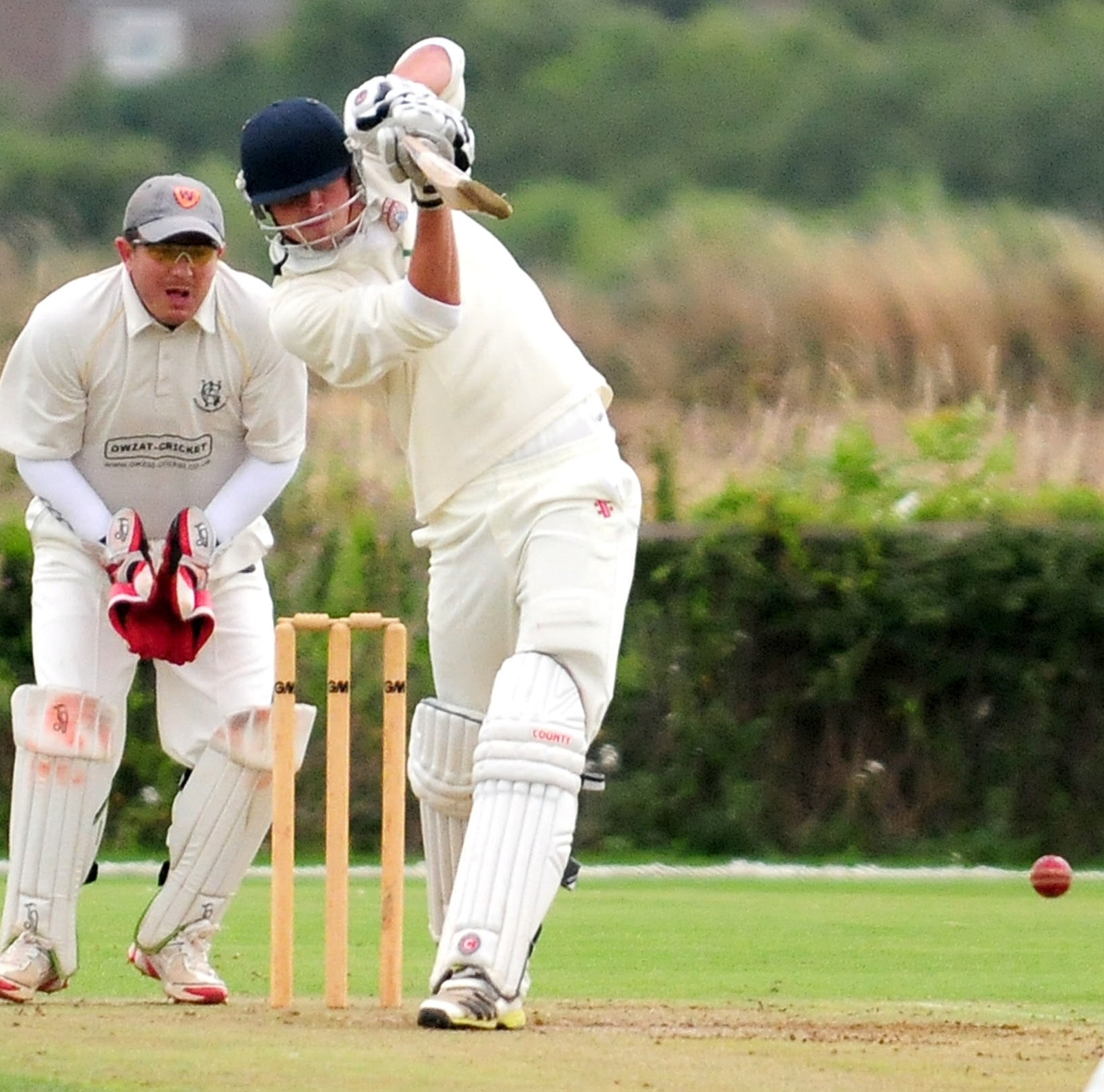 Batsman Mark Fisher, who starred for Sheriff Hutton Bridge in their Pilmoor League title push
